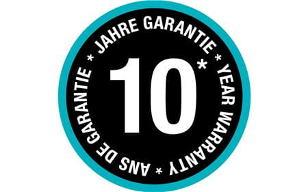 WEB ONLY - 10 year warranty_web only