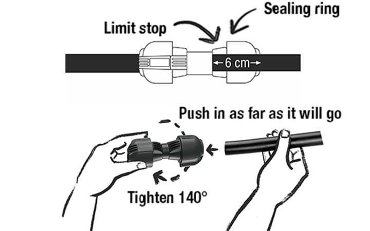 GARDENA Sprinkler System Installation Step 3