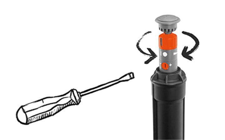 GARDENA Sprinkler System Installation Step 4