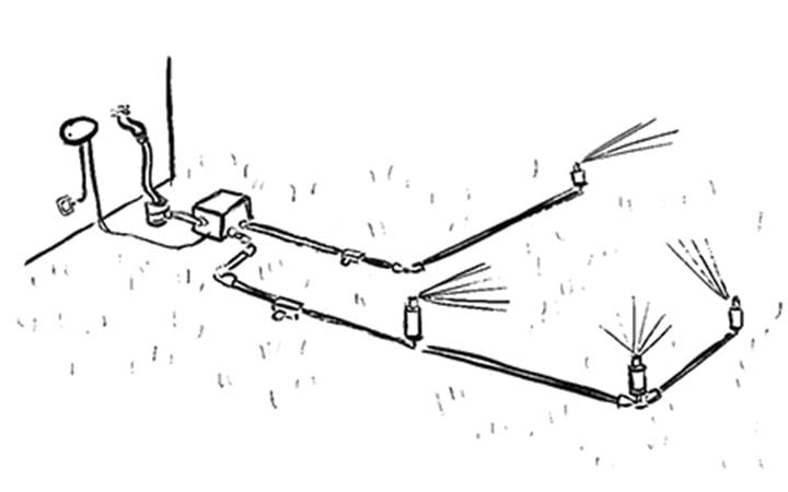GARDENA Sprinkler System Installation Step 5