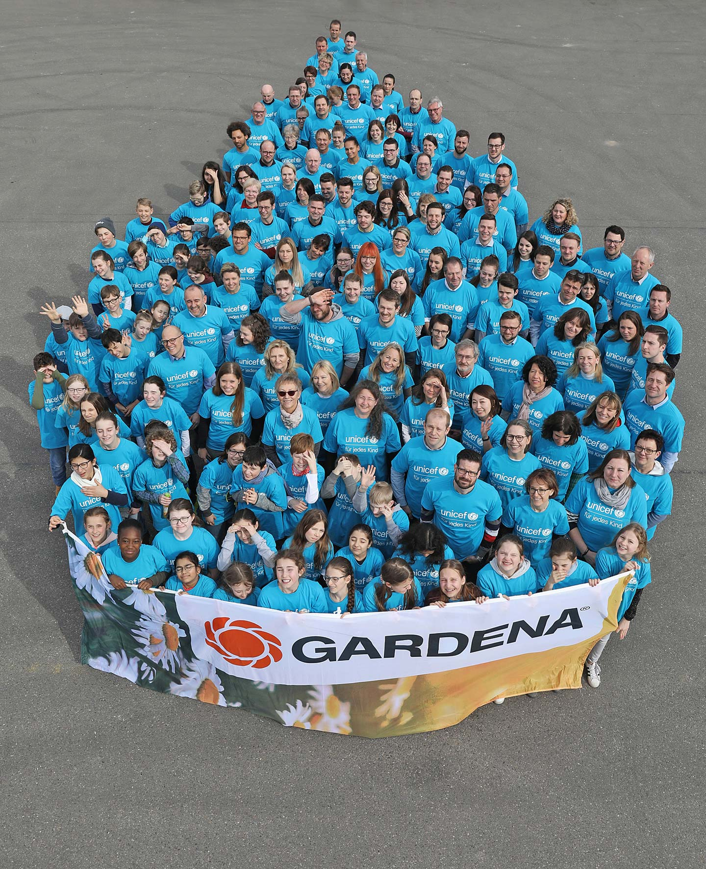 GARDENA employees support Every Drop Counts