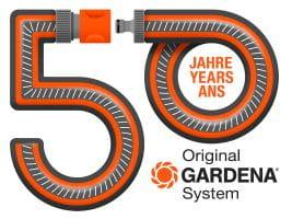 50 years Original GARDENA System
