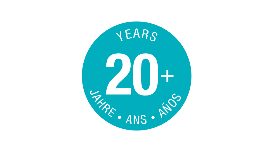 GARDENA - 20 years logo