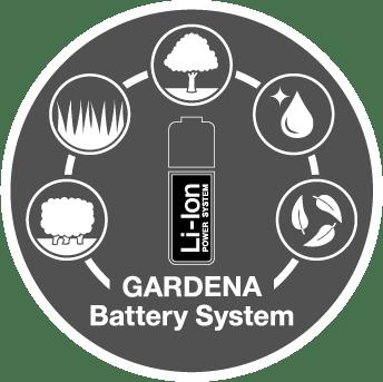 GARDENA battery system