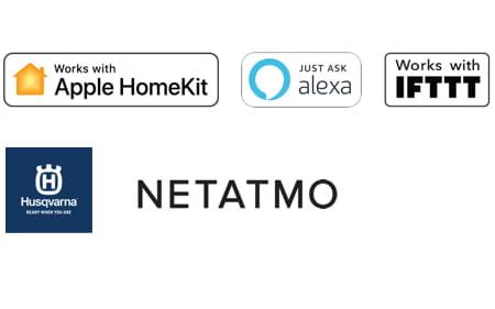 GARDENA smart system partner logos