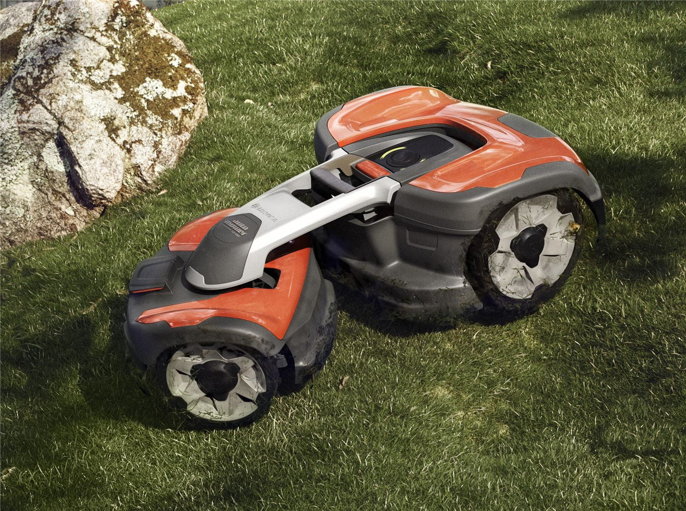 Automower 535 AWD - small square format