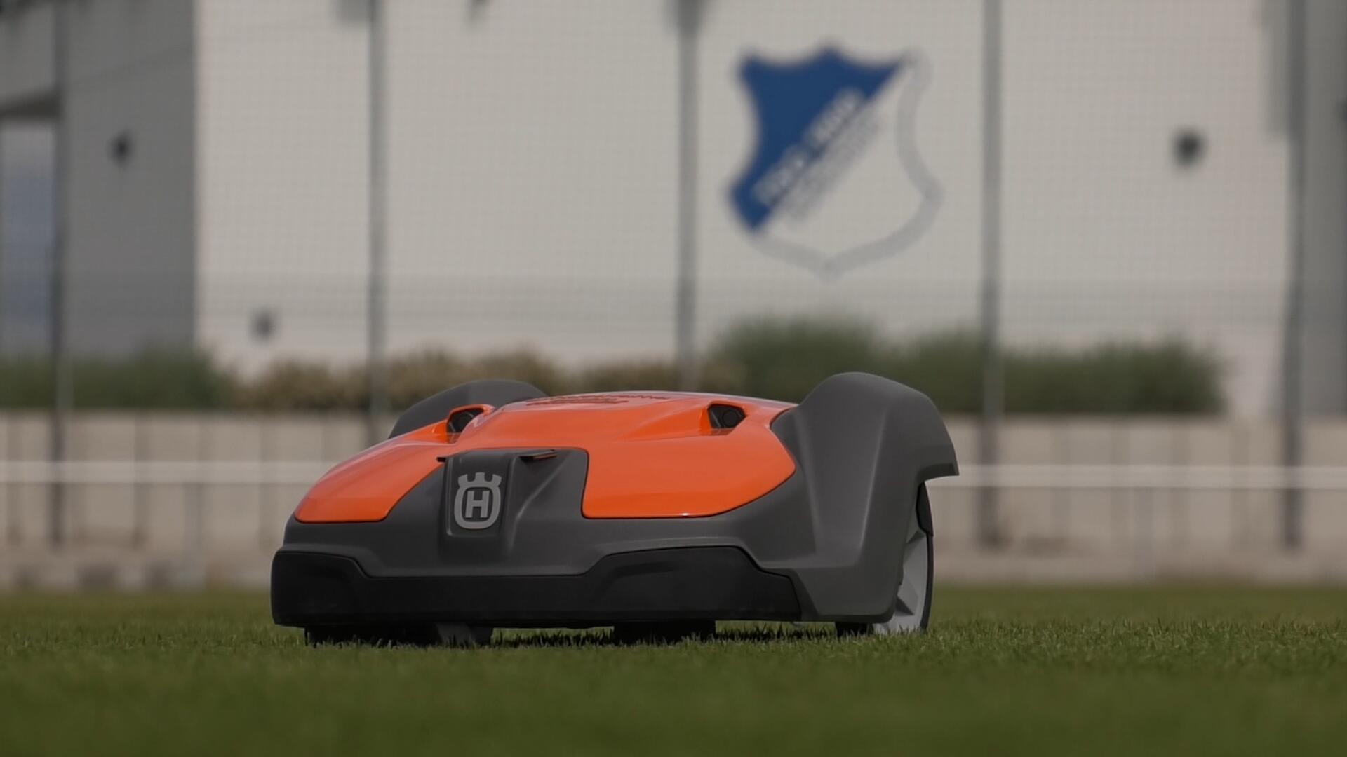 Automower 550 at Hoffenheim football club