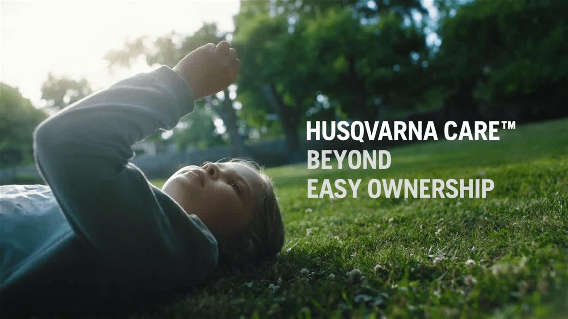 Husqvarna护理概念30s 16x9
