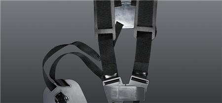 Padded double harness