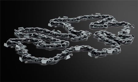 Chain Black Background