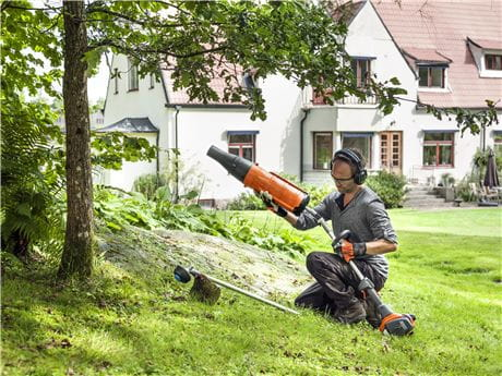Attachments make the Husqvarna Trimmer a versatile tool in your garden
