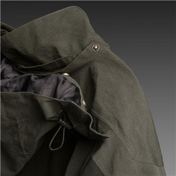 Removable and moldable hood, Shell jacket, men