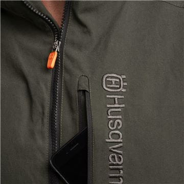Padded mobile pocket, Shell jacket, men
