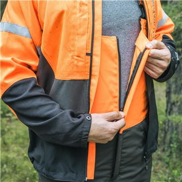Full long Zipper at front , Functional carpenter trousers