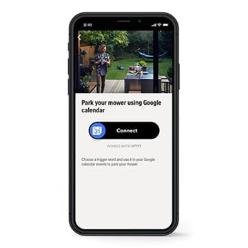 Applet IFTTT husqvarna connect