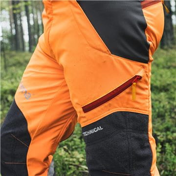 Pocket with Zipper, Technical