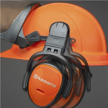 Helmet with FM radio