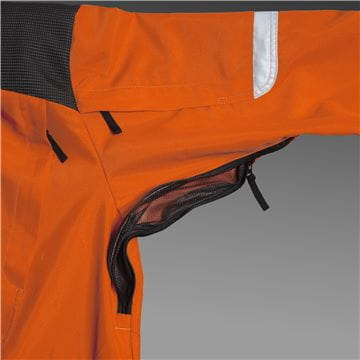 Ventilation zipper, Brushcutting- and trimmer