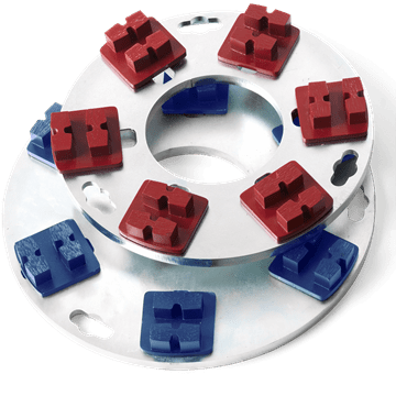 Redi Lock, Redi Lock diamond holder discs