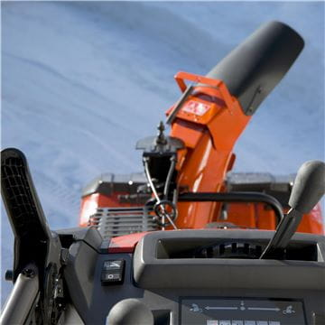 Remote chute rotator