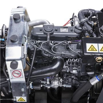 LP 9505 engine