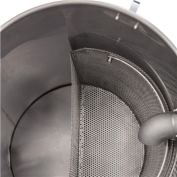 W 70, Integral stainless steel strainer