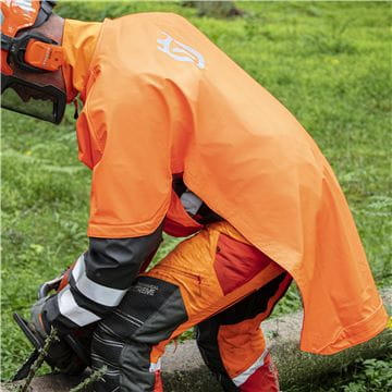 Rain Back Protector Protect, Functional, Adapted for Logging