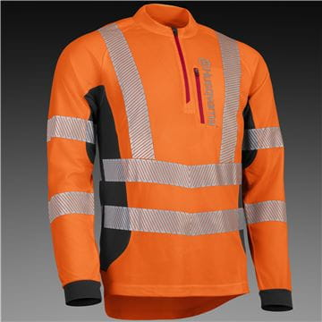Work T-Shirt, High Viz, Technical LS, High Visibility