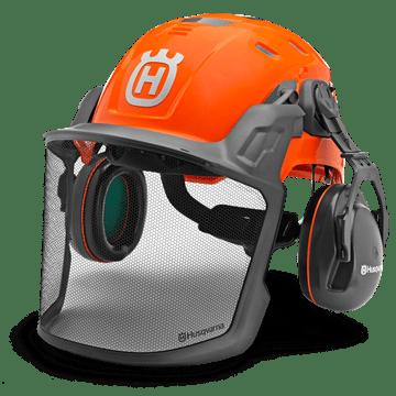 森林头盔、技术