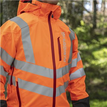 Rain Jacket Vent High-Viz, Technical, High Visibility