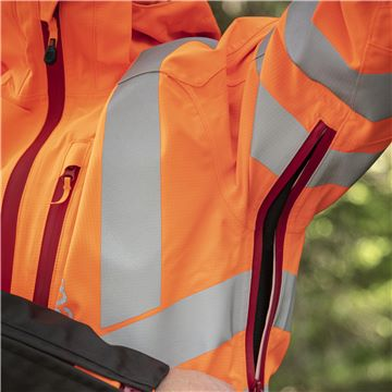 Rain Jacket Vent High-Viz, Technical, Ventilation Armpit