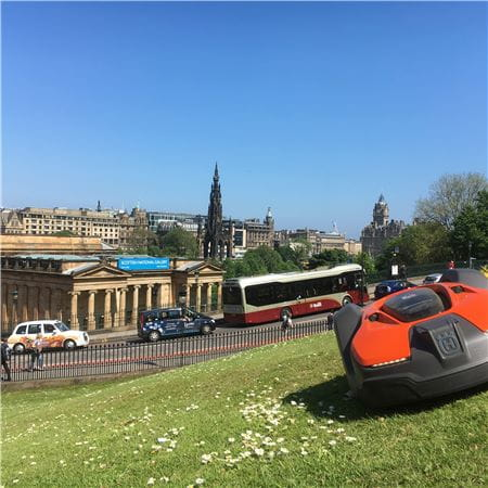 Robotic pilot Edinburgh