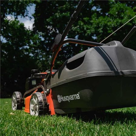 Husqvarna walk behind lawn mower