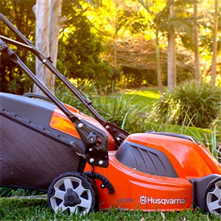 Husqvarna Battery Lawn Mower with Catcher