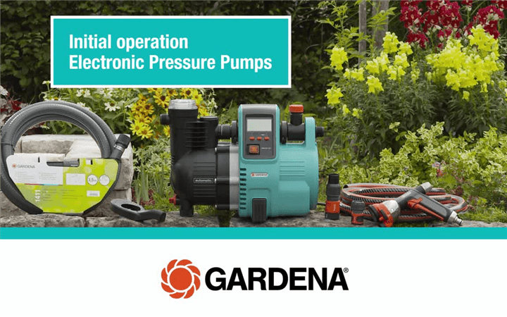 Electronic pressure pump-How to-2014-EN