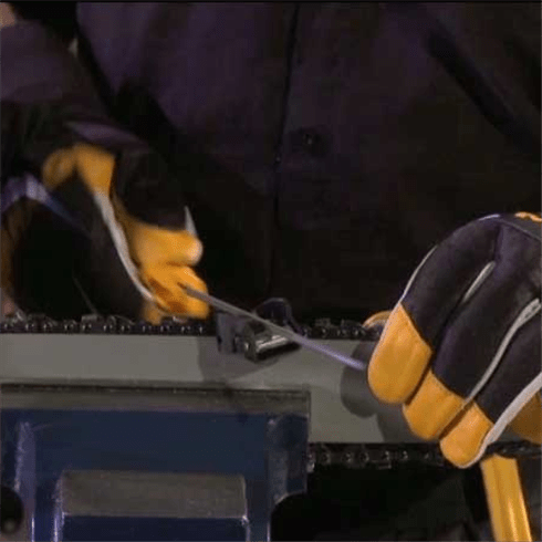 How to - Sharpen your chainsaw.