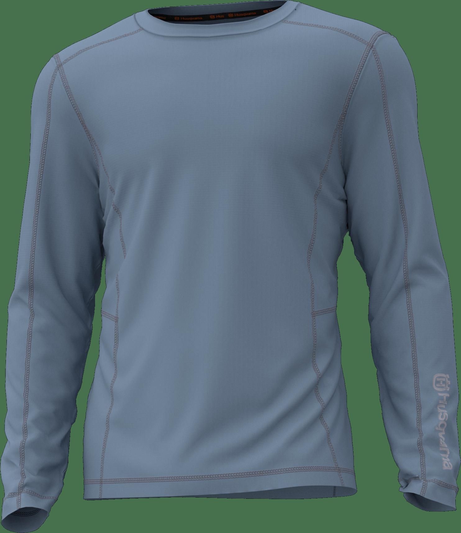 Details about  /Husqvarna 529677754 Large Varme Men/'s Long-Sleeve Performance Shirt UPF 40 L