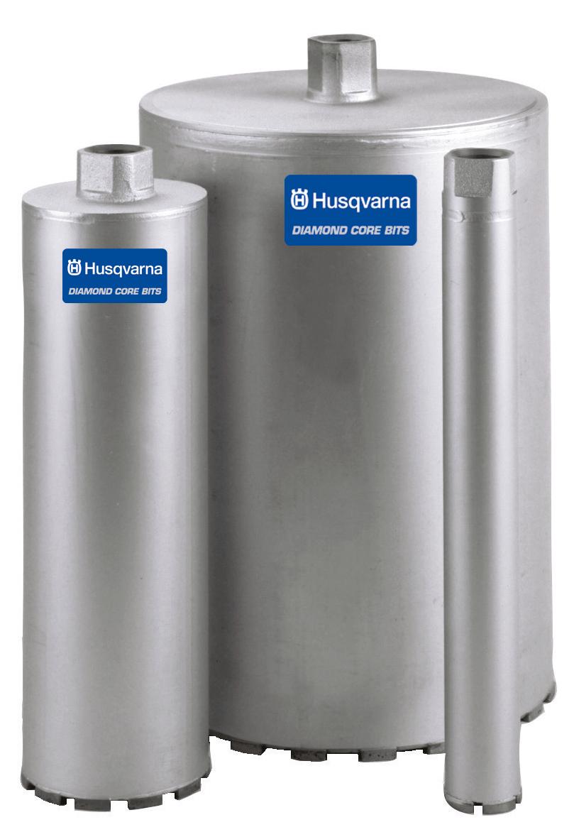 Husqvarna 542780113 3-Inch Diamond Core Drill Bit