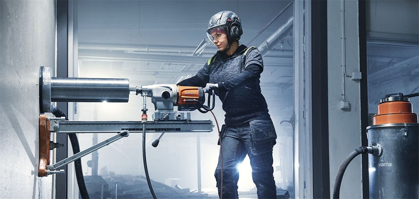 Husqvarna DM 400 series of drill motors are designed and engineered to be tough, smart and reliable, built to exceed your expectations.