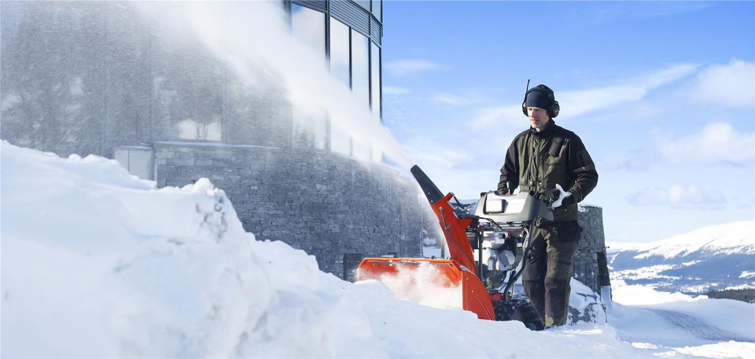 Husqvarna Snow Throwers for snow removal during the toughest winter