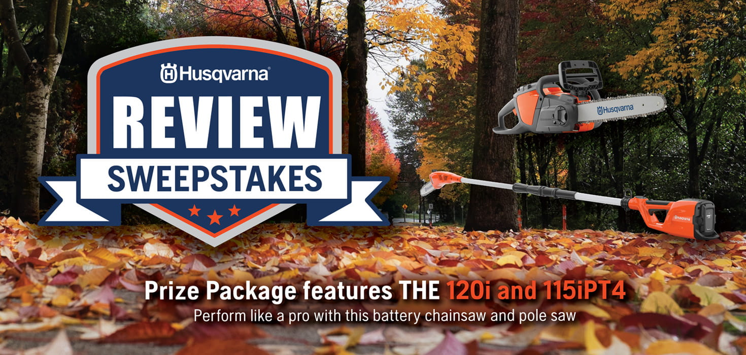 Husqvarna Fall Review Sweepstakes