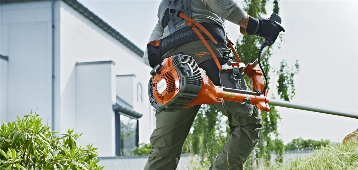 Husqvarna Brushcutters for trimming higher grass and and undergrowth