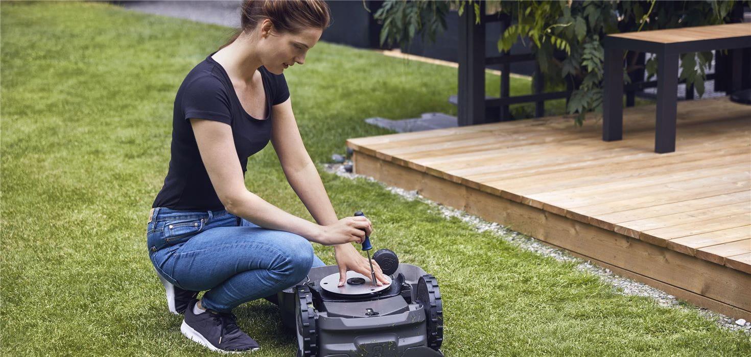 机械割草机零件和附件
