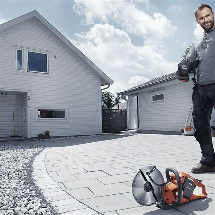 Husqvarna Power Cutters will enable you to work in the toughest conditions