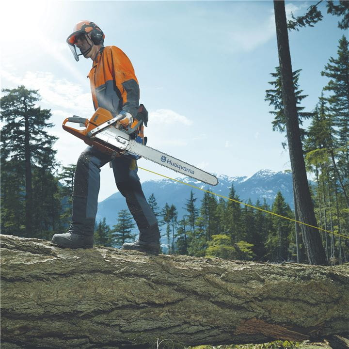 Your Husqvarna Chainsaw will enable you to operate securely and flexible