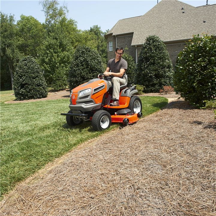 A Husqvarna Garden Tractor lets you multitask with control