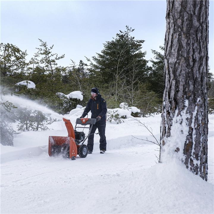 Husqvarna Snow Throwers are easy to start in any weather