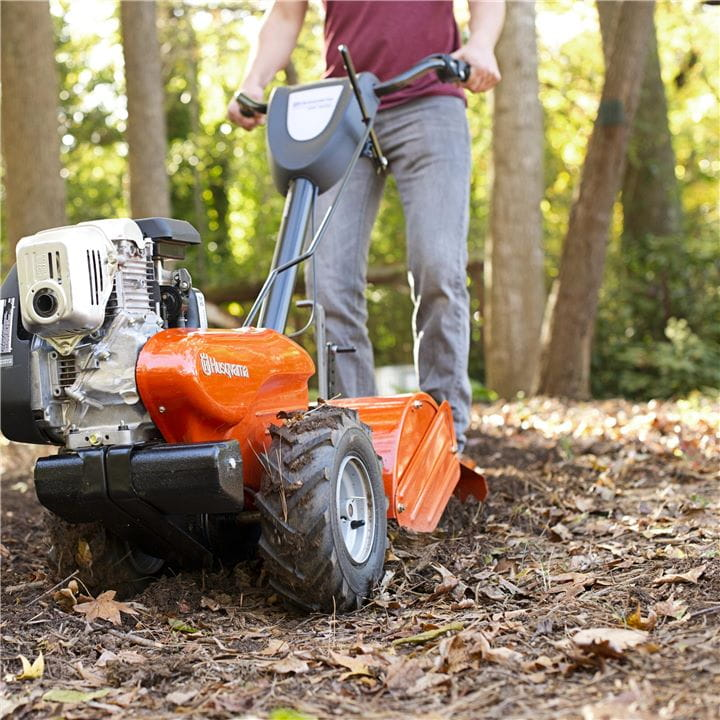 Husqvarna Tillers are built for intense operation over many years.