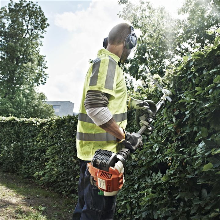 Get great ergonomics with a Husqvarna Hedge Trimmer