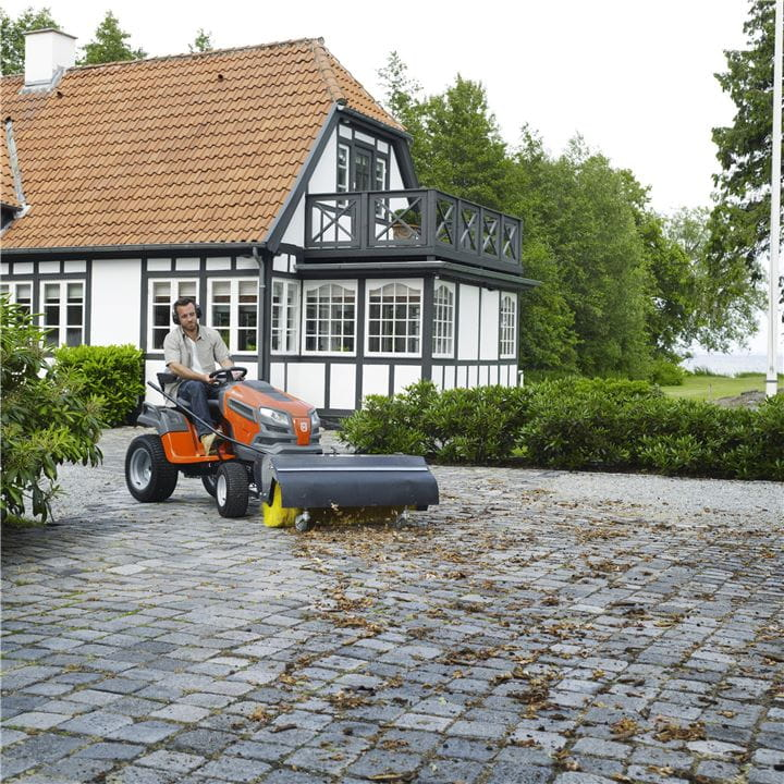 Adapt your Husqvarna Tractor to the season with one of our many attachments